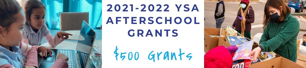 $500 For 60 Afterschool Programs